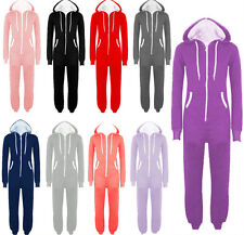 NEW MENS HOODED ONESIE SUIT ALL IN ONE JUMPSUIT ONE PIECE SUIT M L XL XXL