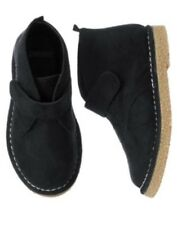 GYMBOREE HOLIDAY MEMORIES BLACK SUEDE DRESSY SHOES 5 NWT-OT