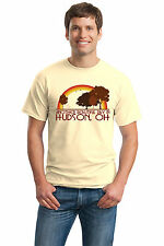 ANOTHER BEAUTIFUL DAY IN HUDSON, OH Retro Adult Unisex T-shirt. Ohio City Pride