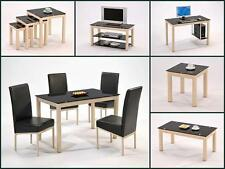 Athena Nest Of Tables Lamp Coffee Computer And Dining Table + 4 Chairs TV Unit