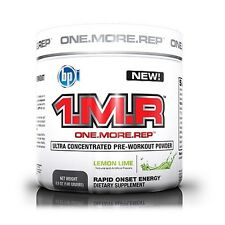 BPI Sports 1.M.R.Concentrated Pre-Workout ONE MORE REP 140g NEW STRONGER FORMULA