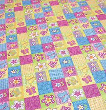 Summertime Carpet Pink butterfly and flower for kids bedroom playroom nursery