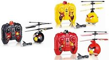 Angry Birds (RED BLACK YELLOW) RC Remote Helicopter Flight Flying AeroCraft Toys