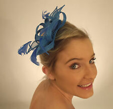 Campbell Cooper Ladies Feather Loops Diamonte Comb Fascinator Headpiece