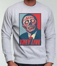THEY LIVE SWEATER OBEY CONSPIRACY VENDETTA NWO JUMPER RODDY PIPER OBAMA DTG