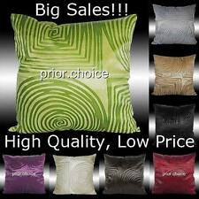 BIG SALES 2X SQUARE CIRCLE SOFT VELVET CUSHION COVERS THROW PILLOW CASES 17""