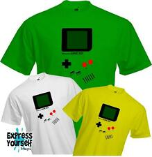 NINTENDO GAMEBOY - gaming gamer fancy dress costume funny TSHIRT - NEW