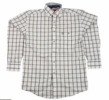 Mens NWT Wrangler George Strait Long Sleeve Button Down Shirt MGS26TM Size S M L