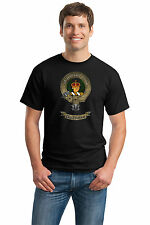 CLAN BUCHANAN Adult Unisex T-shirt. Scottish Family Crest, Scotland Coat of Arms