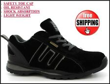 NEW MENS LADIES WORK BOOTS SAFETY STEEL TOE CAP ANKLE SHOES TRAINERS HIKING 3-13