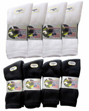 Mens Cotton Black,Navy Grey Mix Sports Socks Work,  Packs of 3,6,12 - size  6-11