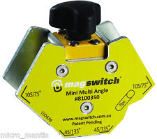 Magswitch Mini Multi Angle Welding Magnet Magnetic Clamp On/Off Mag Switch. 40kg