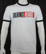 Licensed TALKING HEADS True Stories Album Logo Slim Fit T-Shirt S M L XL NEW