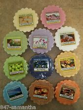 Yankee Candle Tarts / Melts - NEW Summer 2013 - Lot's of 6 - You Pick-Free Ship!