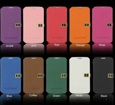 NEW Leather Skin Stand Hard Back Case Cover For Samsung Galaxy NoteII 2 GT-N7100