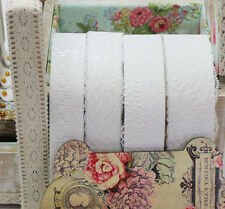 Adhesive Decorative Lace Ribbon reform Tape 3yd Roll Scrapbooking Embellishments