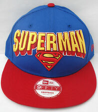 New Era 9Fifty Hero Block Superman Snapback Cap