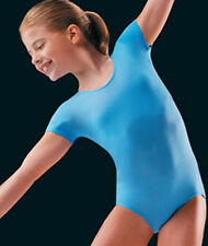 New Girls' dance gymnastics cheer Short Sleeve leotard - Danskin 2905 3905