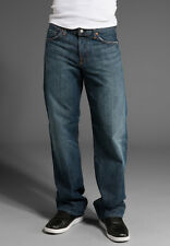 $169 Men's Seven 7 For All Mankind Relaxed Straight Jeans New York Dark 28,30,31