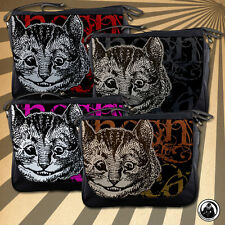 Alice In Wonderland Grunge Cheshire Cat (4 Colour Choices) Messenger Bag