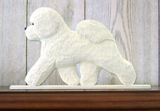 Bichon Frise (Dog in Gait) Topper. In Home Wall or Shelf Products & Gifts.