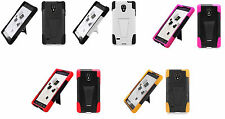 LG Optimus L9 P769 / MS769 (T-Mobile / Metro PCs) Hybird Phone Case with Stand
