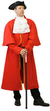 DELUXE REGENCY-Gothic- Victorian-LARP-Cosplay TOWN CRIER COSTUME SML-XXXL