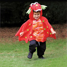 Baby Red Blaze Dragon fancy dress up Two Sizes 2-8y Boys Halloween Welsh Costume