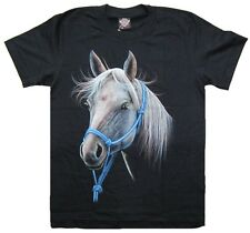 Horse Stallion Steed Rock Eagle T-Shirt B73 New Size M L XL