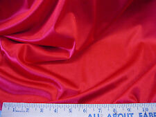 """Discount Fabric nylon Tricot stretch Sweetheart Red 108"""" wide TR10"""