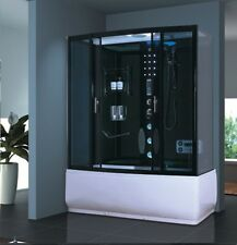 ★NEW 2014 STEAM SHOWER CUBICLE ENCLOSURE BATH CABIN★♥ 1500mm 1700mm♥Radio♥2305/6