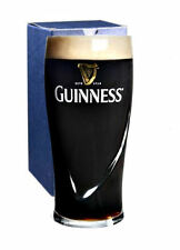 Personalised Engraved Branded 1 Pint Guinness Beer Glass + Gift Box (Old Design)