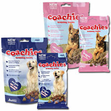 Coachies Dog Training Food Treats Adult & Puppy Dogs 75g 200g Chicken Lamb Beef