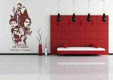 Game of thrones wall vinyl sticker/season/series/xbox360/book wall art sticker