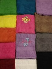 Personalized Monogram Towels, Wedding Beach College Gifts Bridesmaid