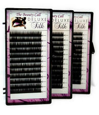 DELUXE SILK C Curl .15/.18/.20mm Choose Size 8mm-16mm Lashes Eyelash Extension