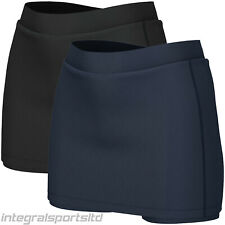 i-sports Pro Skort For Girls – Performance Base Layer Outer Skirt & Under short