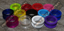 Acrylic Screw Flesh Tunnel Ear Plug Taper Earring Stretcher Plug Ear Tunnel