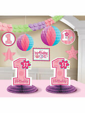 Girl's 1st Birthday Party Supplies - Build Your Own Custom Party Kit