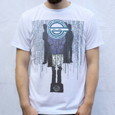 Laughing Man Ghost In The Shell Design T Shirt