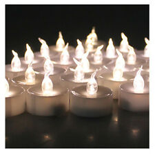 6 pcs/24 pcs LED Warm White Tealight Electronic Timing Candles Lights with Timer