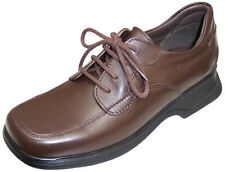 Start-rite Emerald New Girls Leather School/Formal Lace Shoe In Brown Or Black