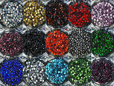 ss10 / 3mm Iron On Hot Fix Rhinestones in Varies Colours and Varies Lots
