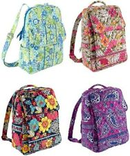 Vera Bradley Large Backpack,100% Cotton,Multi-Color,Girls,NWT,Free Shipping