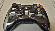 OFFICIAL XBOX 360 CONTROLLER SHELL SILVER CHROME EDITION * NEW FAST SHIPPING*