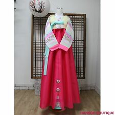 ★HANBOK-BOUTIQUE IW-207 NEW WOMAN Korean Traditional Clothes CUSTOM MADE HANBOK