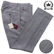 New PRINCE of WALES Sta Press Trousers by Relco Size 30 - 40 Mod Skin Ska Prest