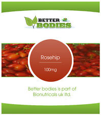 Rosehip Capsules HPMC Capsule ONE a Day FREE UK Delivery