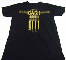 Mens NEW Johnny Cash Man in Black Music Logo Graphic T-Shirt Size S M L XL