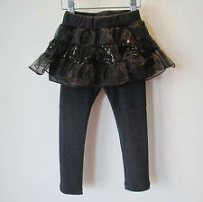 1697 Boutique Fake 2Ps Set-up Pants Sequin Skirt & Cotton Leggings Very Pretty